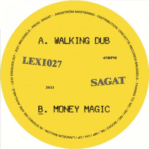Sagat - Walking Dub / Monkey Magic - LEXI027 - LEXI DISQUES