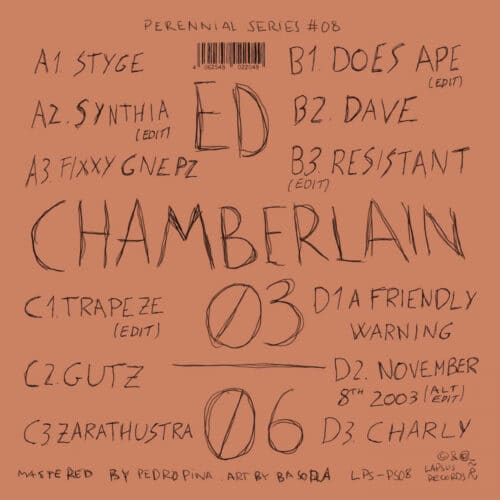Ed Chamberlain - 03/06 - LPS-PS08 - LAPSUS