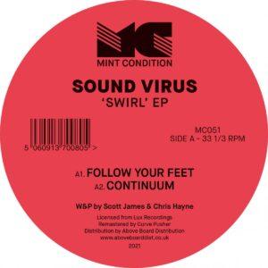 Sound Virus - Swirl EP - MC051 - MINT CONDITION