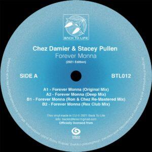 Chez Damier/Stacey Pullen - Forever Mona - BTL012 - BACK TO LIFE