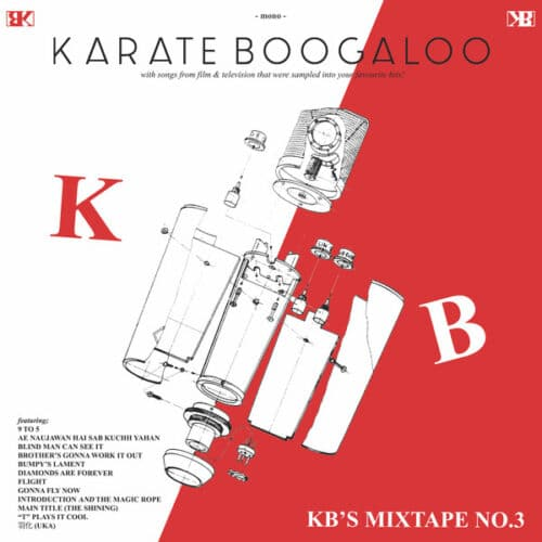 Karate Boogaloo - KB's Mixtape No. 3 - COK008 - COLLEGE OF KNOWLEDGE RECORDS