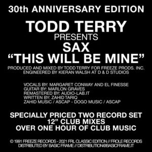 Todd Terry - This Will Be Mine - FCE-04 - FRL CLASSIC EDITION