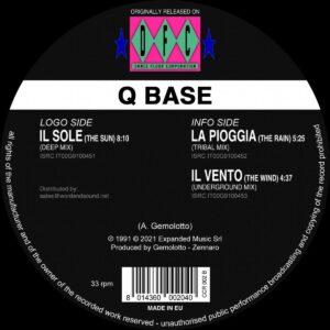 Q Base - Atmosphere E.p. Vol. 2 - CCR-002 - CLUB CULTURE RARITIES