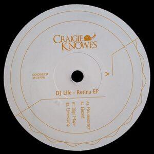 DJ Life - Retina EP - CKNOWEP34 - CRAIGIE KNOWES