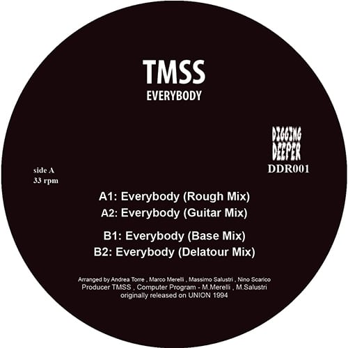 TMSS - Everybody - DDR-001 - DIGGING DEEPER MUSIC