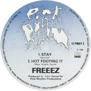 Freeez - Stay?/?Hot Footing It - PINKY2 - FAR OUT
