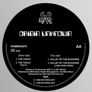 Origin Unknown/Andy C - The Touch / Valley of the Shadows - RAMM004EP2 - LIFTIN SPIRIT
