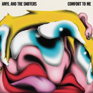Amyl and The Sniffers - Comfort To Me (Romer Red Vinyl) - RT0250LPE - ROUGH TRADE