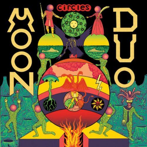 Moon Duo - Circles (Green Vinyl) - SOU034X - CITY SLANG