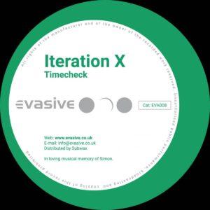 Iteration X - Timecheck / Liquid Logic - EVA008 - EVASIVE