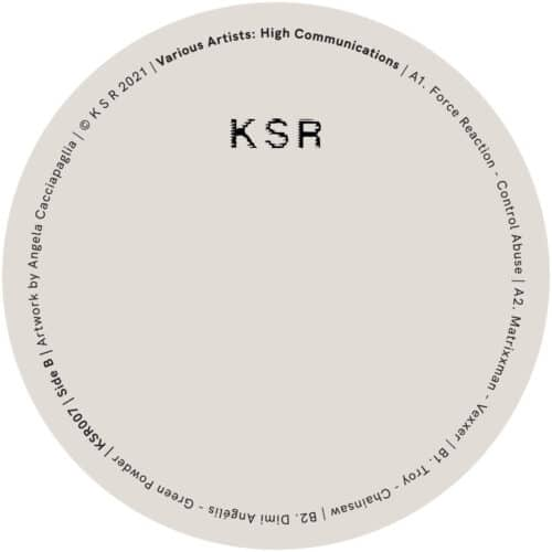 Various - High Communications - KSR007 - KSR