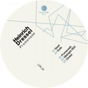 Heinrich Dressel - Promenade - LDR_26 - LUNAR DISKO RECORDS