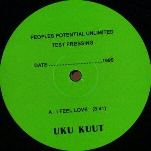 Uku Kuut - I Feel Love/Santa Monica Pier - PPU046 - PEOPLES POTENTIAL UNLIMITED