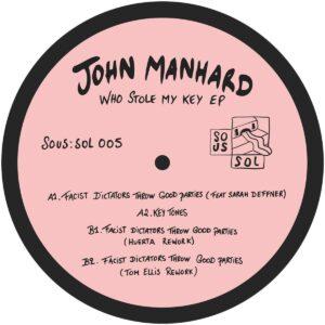 John Manhard - Who Stole My Key - SOS005 - SOUS:SOL