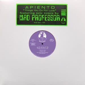 Apiento - Things You Do for Love (Mad Professor Remix) - WB007-12 - WORLD BUILDING
